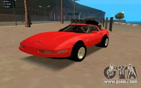 Chevrolet Corvette C4 for GTA San Andreas