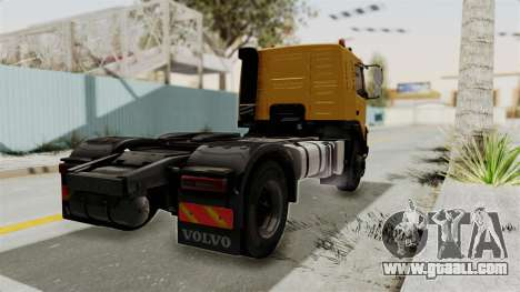 Volvo FMX Euro 5 4x2 for GTA San Andreas left view