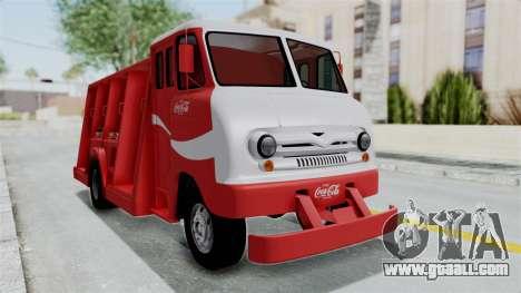 Ford P600 1964 Coca-Cola Delivery Truck for GTA San Andreas