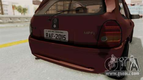 Chevrolet Corsa Hatchback Tuning v1 for GTA San Andreas bottom view