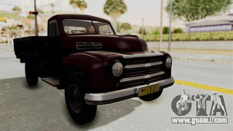 UAZ-300 IVF for GTA San Andreas back left view