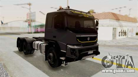 Volvo FMX Euro 5 6x4 for GTA San Andreas right view