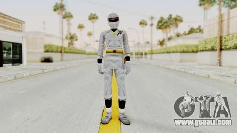 Alien Rangers - White for GTA San Andreas second screenshot