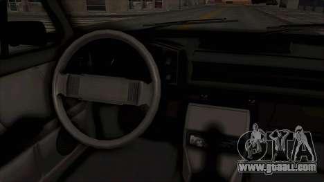 Zastava 128 for GTA San Andreas inner view