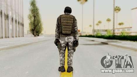 Black Mesa - HECU Marine Beret for GTA San Andreas third screenshot