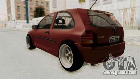 Chevrolet Corsa Hatchback Tuning v1 for GTA San Andreas left view