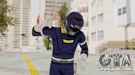 Power Rangers Turbo - Blue for GTA San Andreas