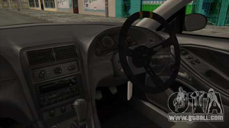 Ford Mustang 1999 Drift for GTA San Andreas inner view