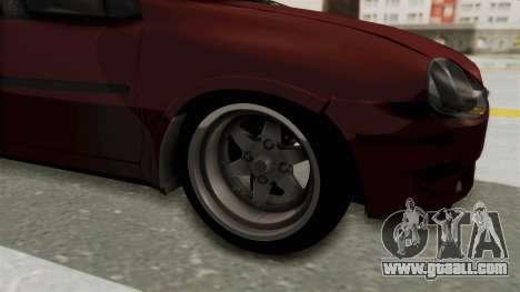 Chevrolet Corsa Hatchback Tuning v1 for GTA San Andreas back view