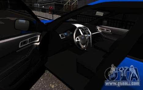 Ford Explorer 2013 for GTA 4 left view