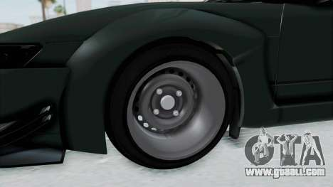 Nissan Sileighty Rocket Bunny for GTA San Andreas back view