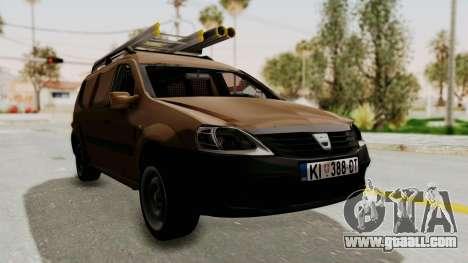 Dacia Logan MCV Van for GTA San Andreas
