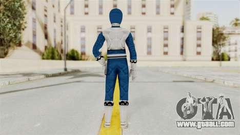 Power Rangers Lost Galaxy - Blue for GTA San Andreas third screenshot