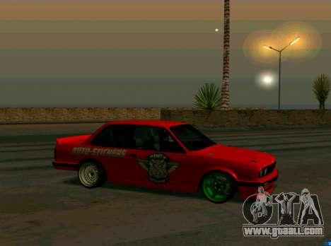 BMW E30 Drift for GTA San Andreas left view