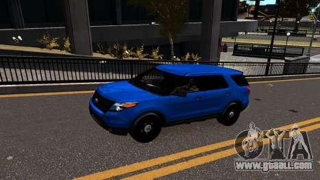 Ford Explorer 2013 for GTA 4