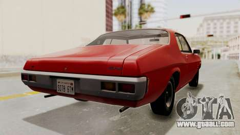 Holden Monaro GTS 1971 SA Plate HQLM for GTA San Andreas left view