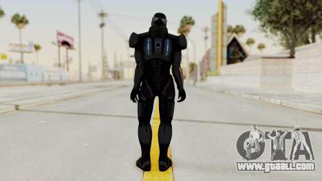 ME2 Shepard Default N7 Armor Delumcore Overlay for GTA San Andreas third screenshot