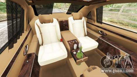 GTA 5 Maybach 62 S front right side view