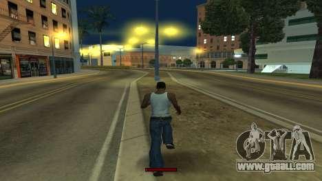The indicator running fast for GTA San Andreas forth screenshot