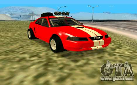 Ford Mustang 1999 for GTA San Andreas right view