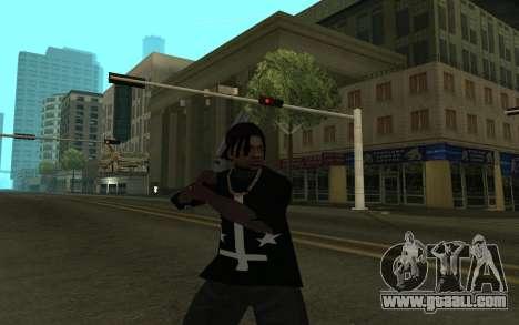 Grove Gang Skin for GTA San Andreas third screenshot