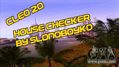 House Checker for GTA San Andreas