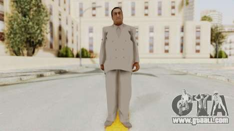 Taher Shah White Suit for GTA San Andreas second screenshot