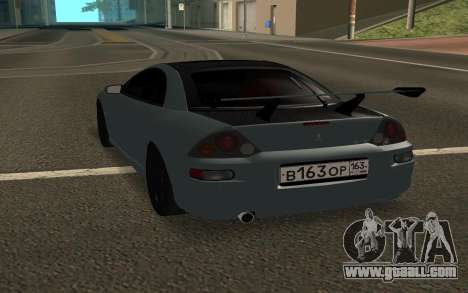 Mitsubishi Eclipse GTS for GTA San Andreas back left view