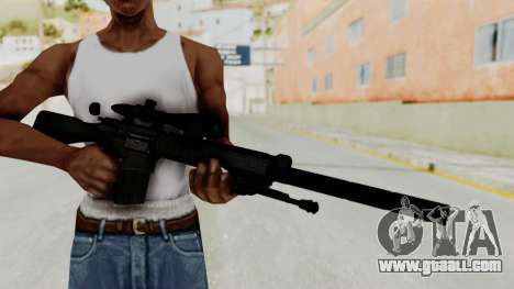 SR-25 for GTA San Andreas third screenshot