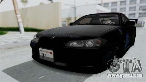 Nissan Silvia S15 RDT for GTA San Andreas
