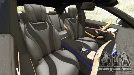 GTA 5 Mercedes-Benz S500 right side view