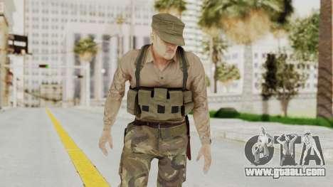 MGSV Phantom Pain Rogue Coyote Soldier Shirt v1 for GTA San Andreas