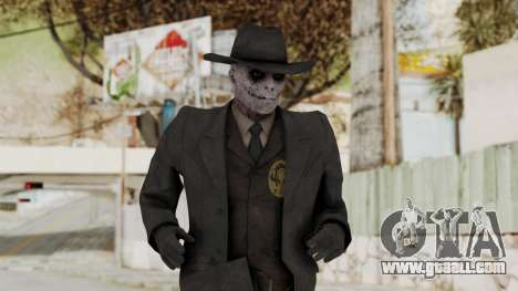 MGSV Phantom Pain SKULLFACE No Mask for GTA San Andreas