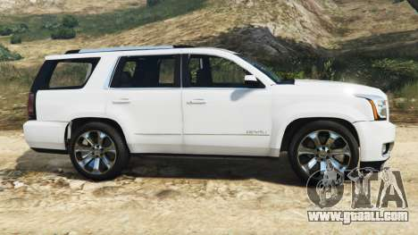 GTA 5 GMC Yukon Denali 2015 left side view