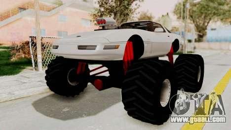 Chevrolet Corvette C4 Monster Truck for GTA San Andreas
