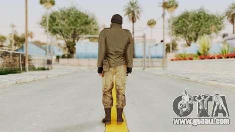 MGSV Phantom Pain CFA Sniper for GTA San Andreas third screenshot
