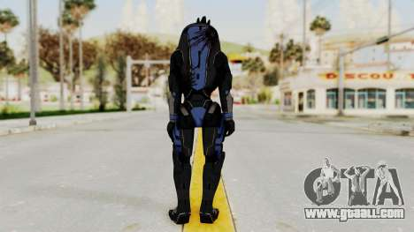Mass Effect 2 Garrus for GTA San Andreas third screenshot