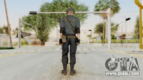 MGSV Phantom Pain Zero Risk Security LMG v2 for GTA San Andreas third screenshot