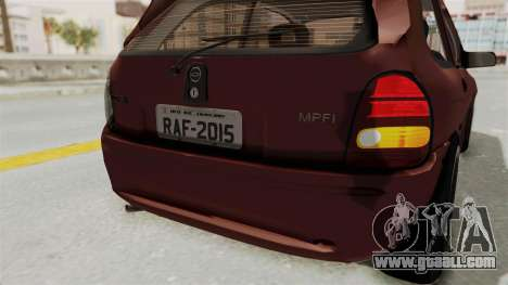 Chevrolet Corsa Hatchback Tuning v1 for GTA San Andreas interior