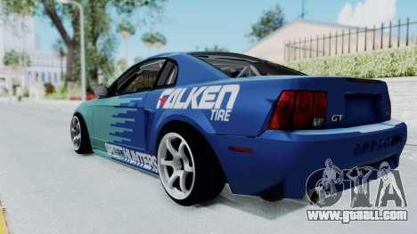 Ford Mustang 1999 Drift Falken for GTA San Andreas left view