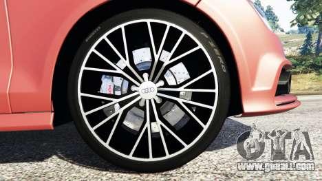 GTA 5 Audi A7 2015 steering wheel