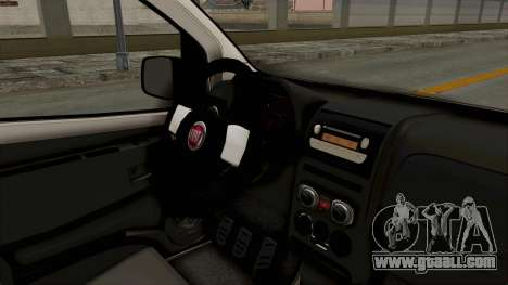 Fiat Fiorino 2014 for GTA San Andreas inner view