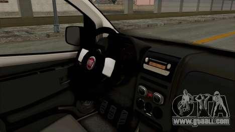 Fiat Fiorino 2014 for GTA San Andreas inner view