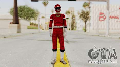 Power Rangers Turbo - Red for GTA San Andreas second screenshot