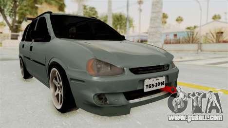 Chevrolet Corsa Wagon Tuning for GTA San Andreas