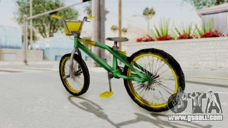 Bully SE - BMX for GTA San Andreas back left view