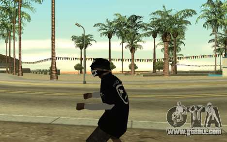 Ballas Gang Member for GTA San Andreas third screenshot