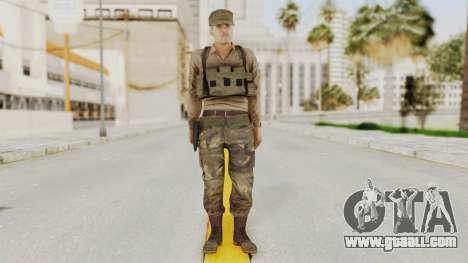 MGSV Phantom Pain Rogue Coyote Soldier Shirt v1 for GTA San Andreas second screenshot