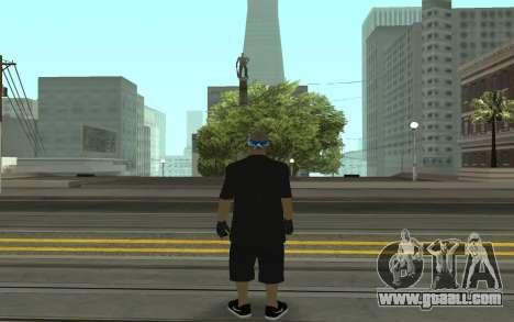 Varios Los Aztecas Gang Member for GTA San Andreas second screenshot