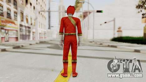 Power Rangers Wild Force - Red for GTA San Andreas third screenshot
